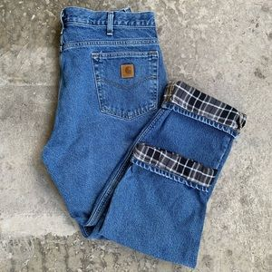 👖Carhartt Blanket-Lined Jeans (36 x 30)